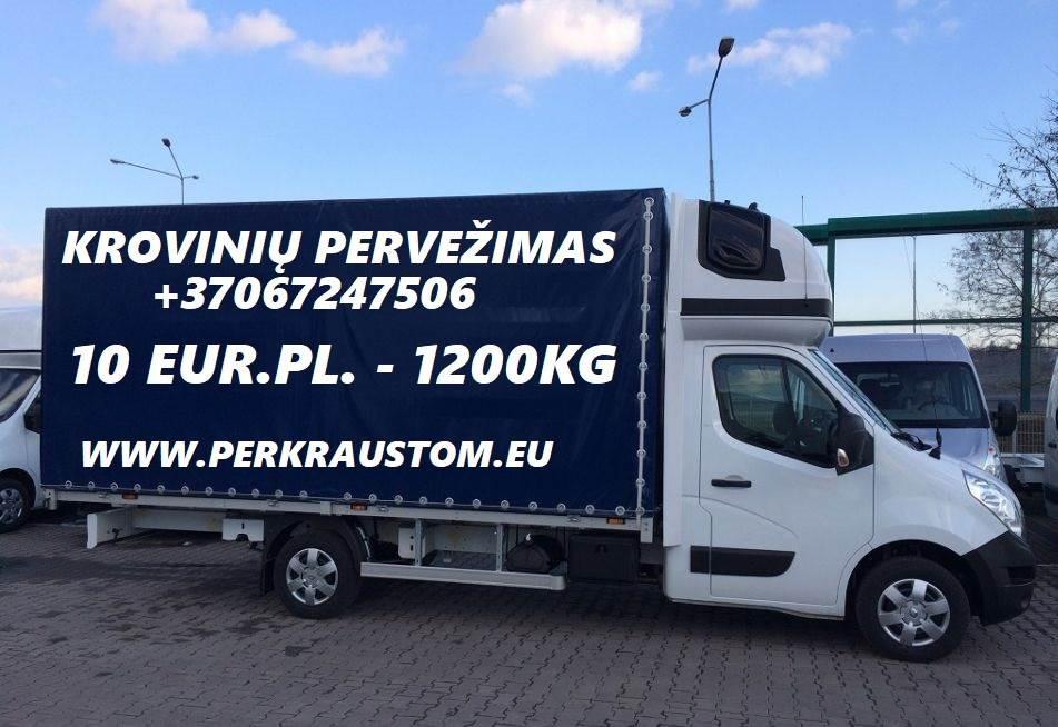 Tarptautinis pilnų ir dalinių krovinių pervežimas iš Europos iki Baltijos šalių.