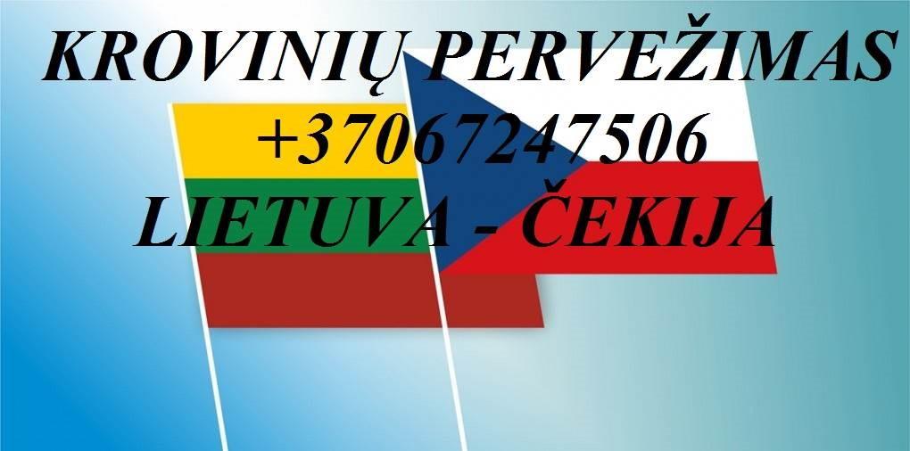 Teikiame tarptautinio perkraustymo paslauga LT - CZ – LT