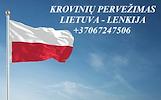 Teikiame tarptautinio perkraustymo paslauga LT - PL – LT
