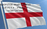 Teikiame tarptautinio perkraustymo paslauga LT - UK – LT .