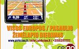 TomTom servisas, atminties praplėtimas, kortelės įlitavimas, žemėlapių naujinimas  Visų GPS navigacijų, navigacinių sistemų žemėlapių atnaujinimas, di