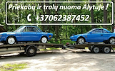 TRALIUKO/PLATFORMOS/PRIEKABOS NUOMA ALYTUS! +37062387452  www.tralunuoma.lt