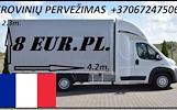 Transporto paslaugas Lietuva - Prancūzija- Lietuva.