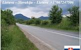 transporto paslaugas Lietuva - Slovakija - Lietuva.