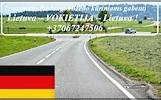 transporto paslaugas Lietuva - Vokietija - Lietuva.