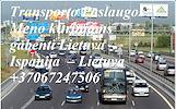 Transporto Paslaugos Meno kūriniams gabenti Lietuva – Ispanija  – Lietuva ! Tarptautinis gabenimas muzikos instrumentų, meno kūrinių gabenimas, ekspon