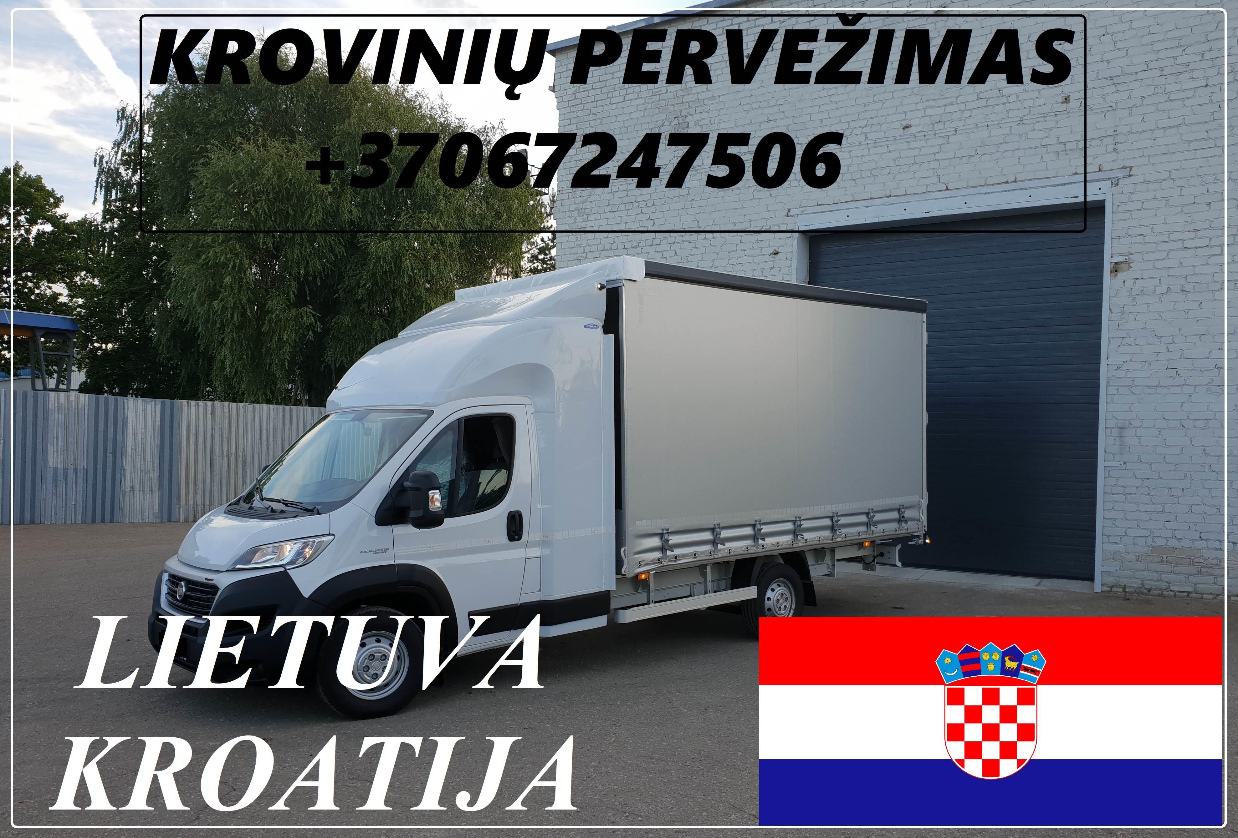 Transporto Paslaugos Meno kūriniams gabenti Lietuva – Kroatija – Lietuva !