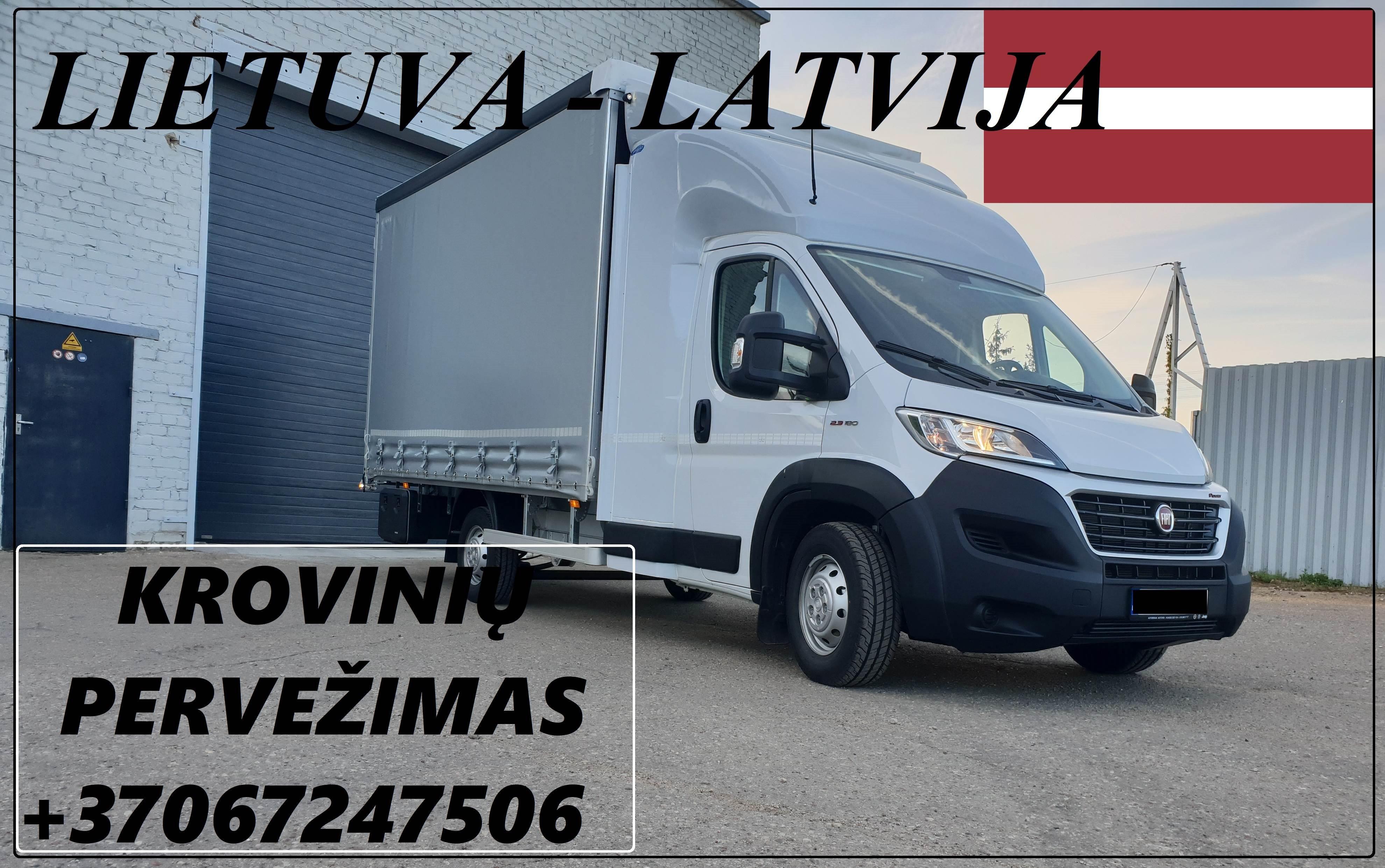Transporto Paslaugos Meno kūriniams gabenti Lietuva – Latvija – Lietuva !