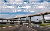 Transporto Paslaugos Meno kūriniams gabenti Lietuva – Olandija – Lietuva !