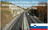 Transporto Paslaugos Meno kūriniams gabenti Lietuva – Slovėnija – Lietuva !   Tarptautinis gabenimas muzikos instrumentų, meno kūrinių gabenimas, eksp