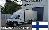 Transporto Paslaugos Meno kūriniams gabenti Lietuva – Suomija