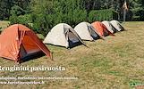 Turistinio inventoriaus nuoma www.turistinesprekes.lt