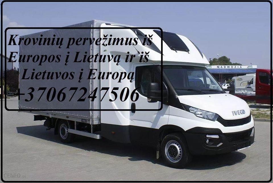 Vietiniai ir tarptautiniai pervežimai-perkraustymai.  LIETUVA - EUROPA - LIETUVA (Berlynas, Liuksemburgas, Viena, Monakas, Briuselis, Amsterdamas, Osl
