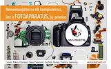 VISAPUSIŠKAS FOTO/VAIZDO kamerų  remontas VISOJE LITUVOJE