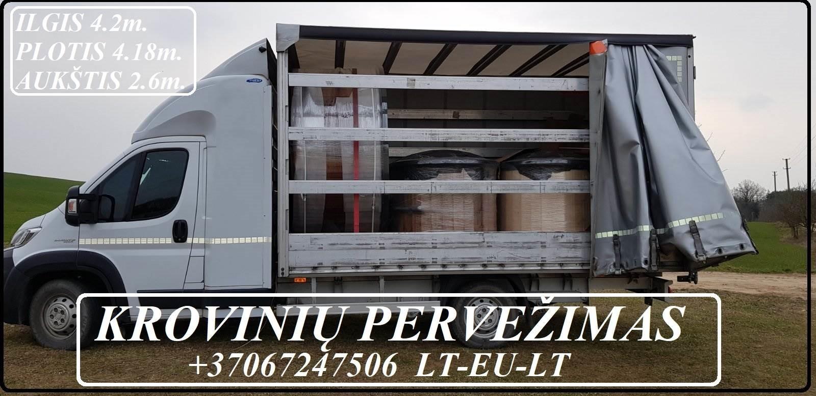 VORIS, UAB ( Kroviniu Pervezimas - Gabenimas / Perkraustymas )  Krovinių Pervežimas Tentiniu Mikroautobusiuku ( daliniai / pilni kroviniai ) ,  LIETUV